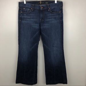 7 For All Mankind Dojo Wide Leg Jean 31